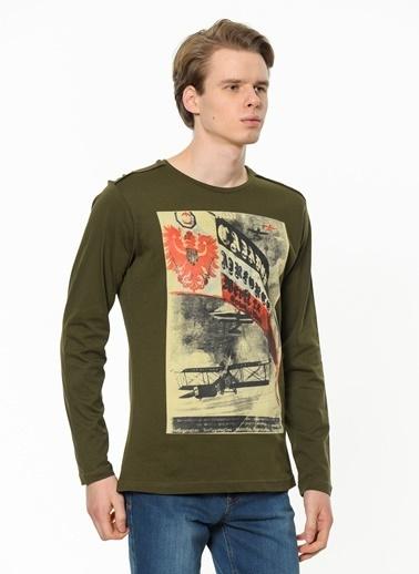 Cazador Sweatshirt Yeşil